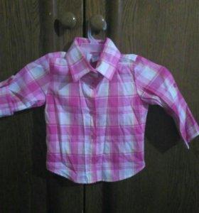 Рубашка до года