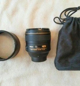 Объектив Nikkor 85mm f/1.4g AF-S