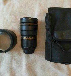 Объектив Nikkor 24-70mm f/2.8g ED AF-S