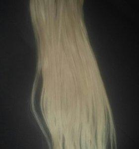 Волосы для капсульного наращевания.