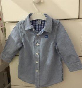 Рубашка на мальчика. 74р