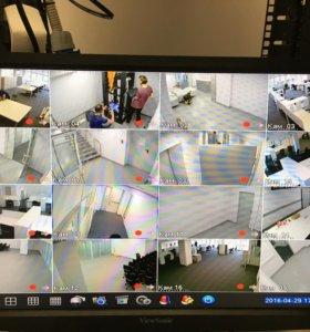 Установка профессионального видеонаблюдения