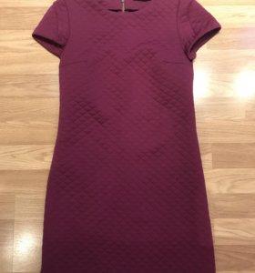 Платье стеганое