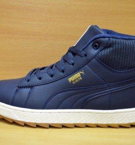 Новые Puma зимние кроссовки кеды ботинки с мехом