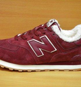 Новые New Balance зимние кроссовки ботинки кеды