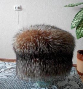 Натуральная меховая шапка