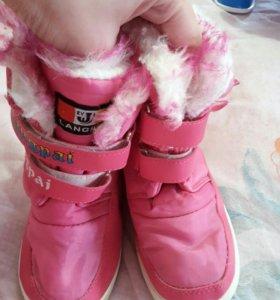 обувь зима на девочку