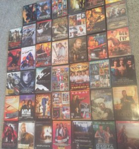 Диски DVD мультики и фильмы