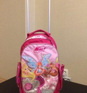 Детский чемодан- рюкзак