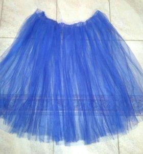 Ткань сетка. Заготовка для юбки или платья
