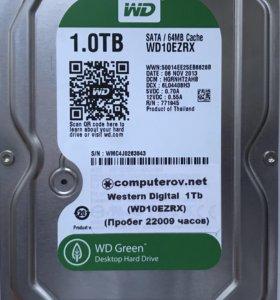 Жесткий диск для ПК 1000Гб
