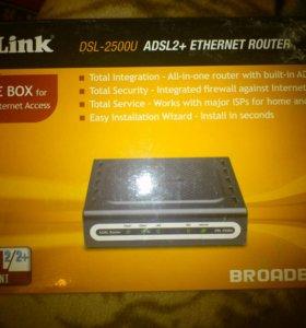 D-Link DSL 2500U ADSL-2+