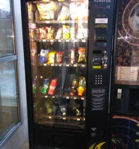 Кофейный и снековый автоматы