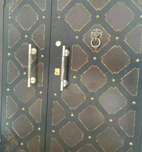Двери с лазерным рисунком