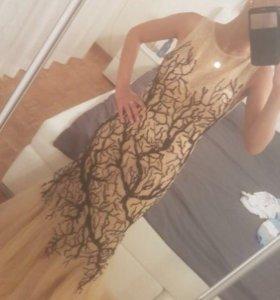 Вечернее платье новое 40-42р