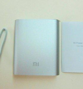 Аккумулятор power bank Xiaomi 10400 mah серебро