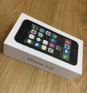 Коробка айфон 5s