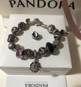 Браслет PANDORA серебро