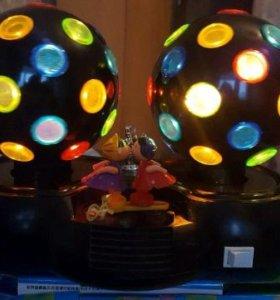 Двойной настольный диско-шар