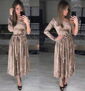 Новое платье, бархат