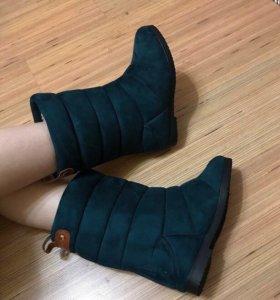 Обувь зимняя на овчине