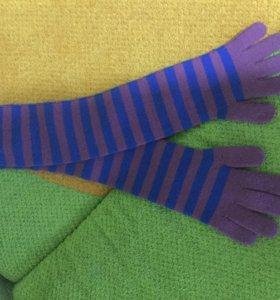 Перчатки шерстяные новые❄️😻