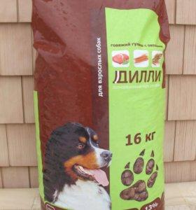 Великолепный корм для крупных собак