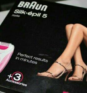 Эпилятор Braun 5280 Silk-epil 5 Xelle,Германия