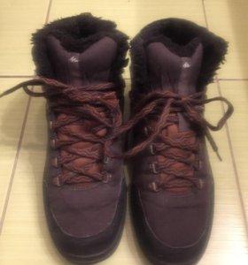 Зимние ботинки кроссовки Декатлон