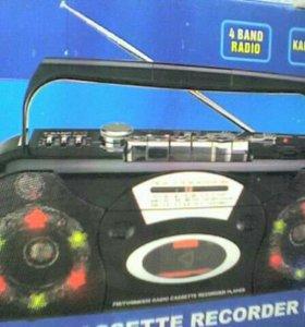 4 канальная радиомагнитола Miro Mr-763DL