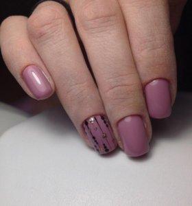 Маникюр , красивые ногти, Гель-лак