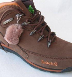 Ботинки Зимние Timberland Euro Rock Hiker Корич.44