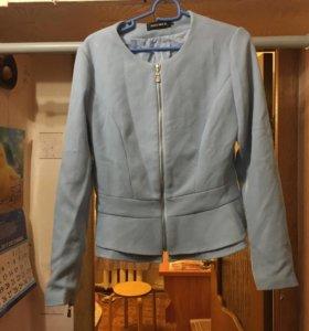 Пиджак на замке размер 46
