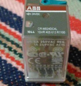 Реле промежуточное ABB CR-M024DC4L.