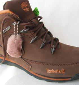 Ботинки Зимние Timberland Euro Rock Hiker Корич.45