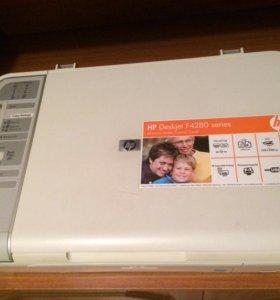 Мфу принтер HP Deskjet F4283