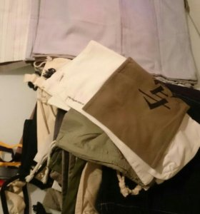 Тканевые мешки для хранения одежды