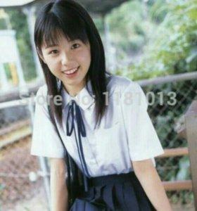 Белая рубашка (японский косплей)