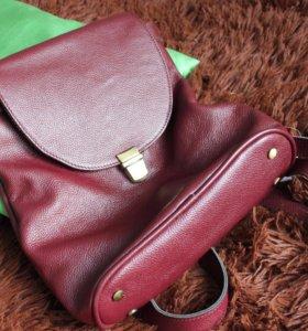 Рюкзак кожа новый