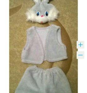 Костюм зайца на прокат