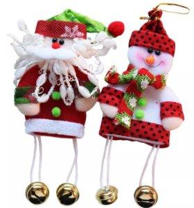 Новогодняя игрушка с колокольчиками