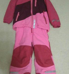 Зимний комплект, размер 98-104.