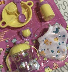 Игрушка Набор посуды для куклы