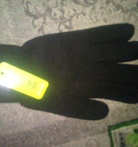 Перчатки мужские с начесом