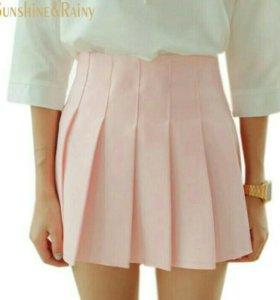 Юбка розовая японский стиль