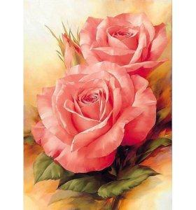 """Набор алмазная вышивка """"Розы"""""""