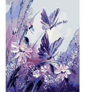 """Картина по номерам """"Бабочки"""""""