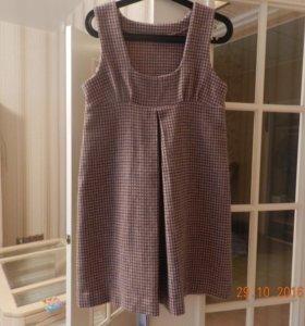 Сарафан и платье теплые