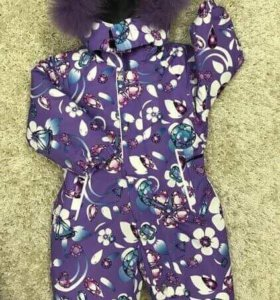 Зимний костюм комбенизон детский
