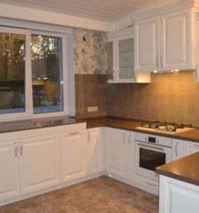 Кухня от производителя с фасадами эмаль